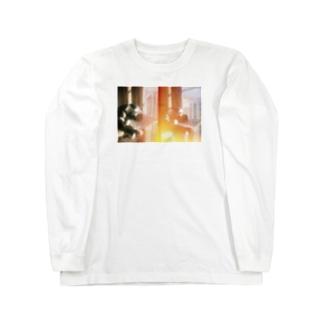 西陽の琥珀 Long sleeve T-shirts