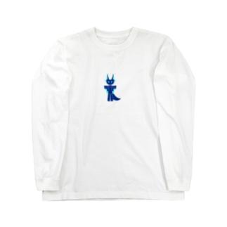 かわいいかいじゅう Long sleeve T-shirts