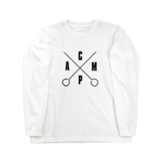 GO Camp × ペグ ロングスリーブTシャツ Long sleeve T-shirts