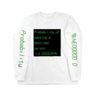 Probability Long sleeve T-shirts