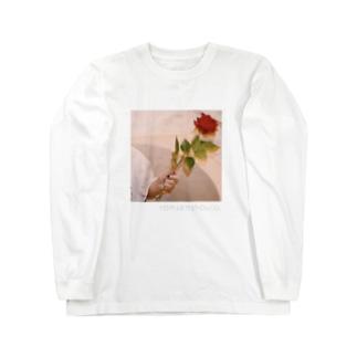 薔薇の憂い Long sleeve T-shirts
