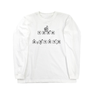 謎解き01 Long sleeve T-shirts