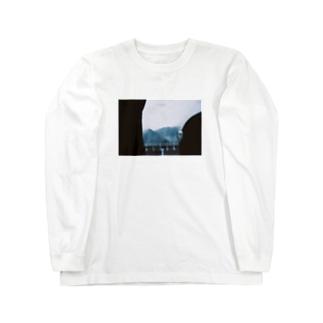 りょへいのアサモヤの車窓 Long sleeve T-shirts