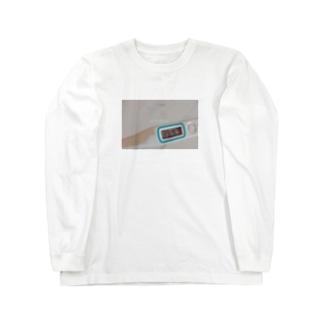 achi-achi お熱中 Long sleeve T-shirts