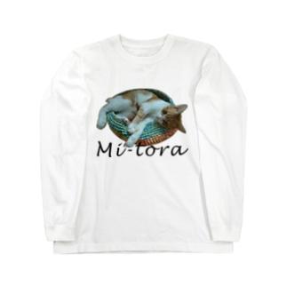 鍋ねこ Long sleeve T-shirts