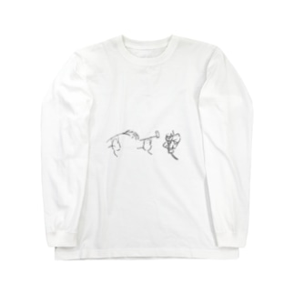みんなで米騒動 Long sleeve T-shirts