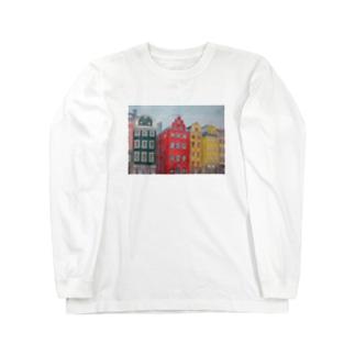 ストックホルム Long sleeve T-shirts