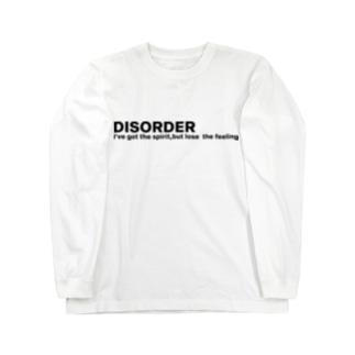 DISORDER Long sleeve T-shirts