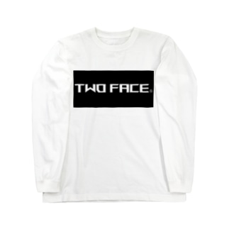 TWO FACE Long sleeve T-shirts