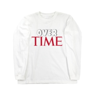 OVER TIME Long sleeve T-shirts