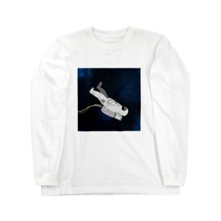 たゆたう宇宙飛行士 Long sleeve T-shirts