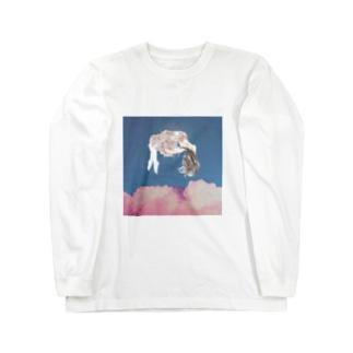 桜夜 Long sleeve T-shirts