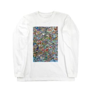 ぼくのまち Long sleeve T-shirts