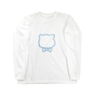 クマくん。 Long sleeve T-shirts