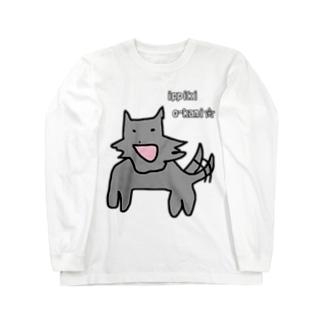 一匹狼 Long sleeve T-shirts