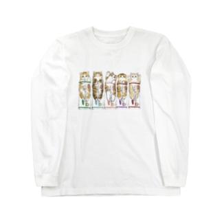 コッペにゃん Long sleeve T-shirts