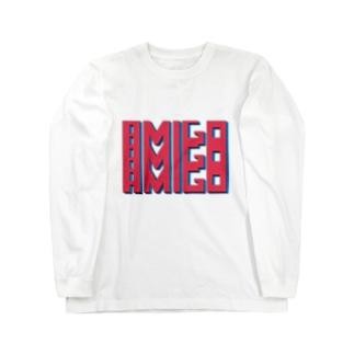 Amigo Red Long sleeve T-shirts