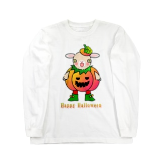 ポリー・ドーセットの楽しいハロウィン Long sleeve T-shirts