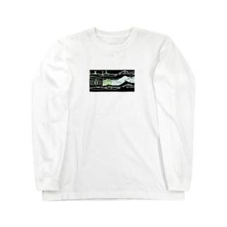 I/M/T/K/M スキー場お土産 Long sleeve T-shirts