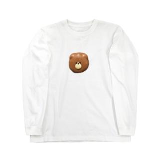くまかろん Long sleeve T-shirts