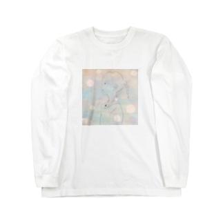 涼しい夏の絵画のあの子。 Long Sleeve T-Shirt
