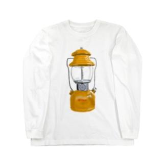 ビンテージランタン Long sleeve T-shirts