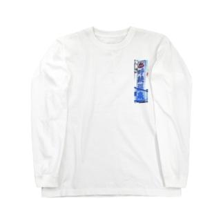 representYOBITSUGIのYOBITSUGI HOT SPRING Long sleeve T-shirts
