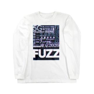 FUZZAGE No.11 eizo no seiki Long sleeve T-shirts