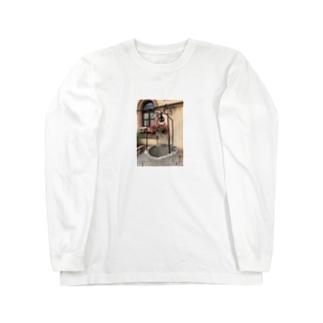 フランス ベーブレンハイムの井戸 Long sleeve T-shirts