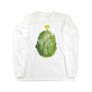 そら豆の精霊さん Long sleeve T-shirts