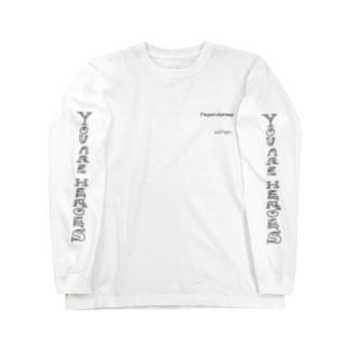【 SOREMOMATAYOSHI 】 500円寄付アイテム / You Are Heroes Long sleeve T-shirts