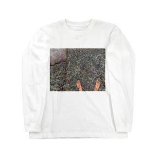 石 Long sleeve T-shirts