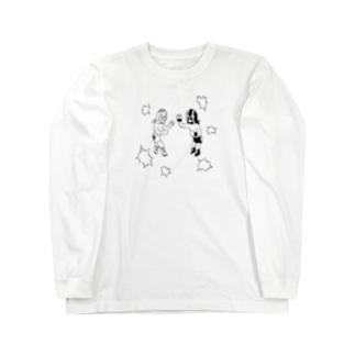 ルチャリブレ Long sleeve T-shirts