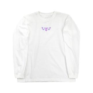 鹿兎×黒鹿クロ001【両面プリント】 Long sleeve T-shirts