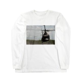 UH1Jくん Long sleeve T-shirts