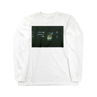 フィルム自販機T Long sleeve T-shirts
