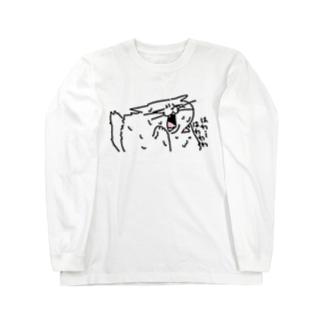 はわわわネコちゃん Long sleeve T-shirts