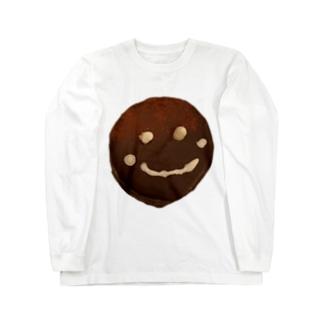 ザッハトルテの微笑み Long sleeve T-shirts