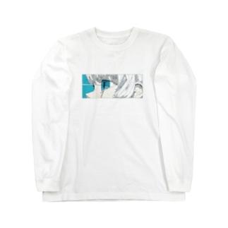 青と熱 Long sleeve T-shirts