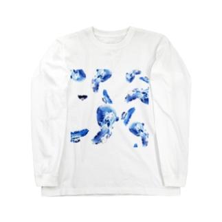 クラゲ Long sleeve T-shirts