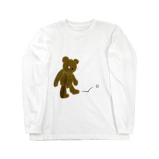 ZOZI SHOPのたそかれテディベア Long sleeve T-shirts