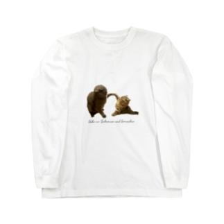 いつでもさばごま Long sleeve T-shirts