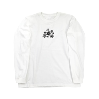 WM©︎(Flower🏵 Long sleeve T-shirts