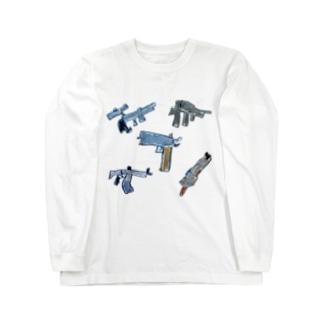 武器オールスター Long sleeve T-shirts