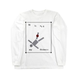 itisnotmybisiness Long sleeve T-shirts