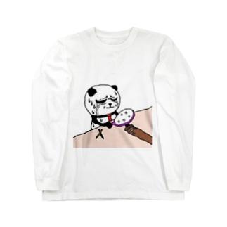 パンダくんTシャツ Long sleeve T-shirts