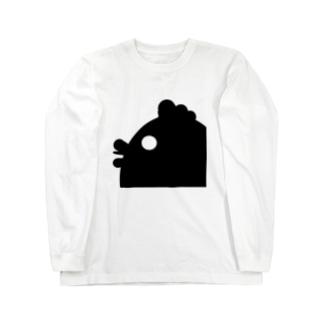 ハードボイルなニワトリ Long sleeve T-shirts