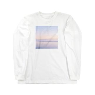 むらさきの海 Long sleeve T-shirts