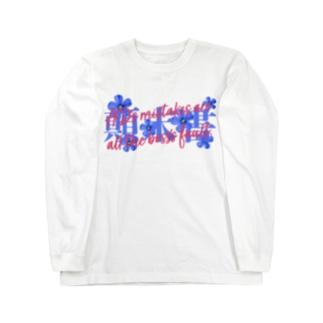 ADのミスは全部上司の責任 Long sleeve T-shirts