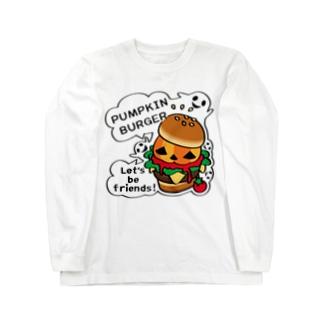 CT14 Gz かぼちゃバーガーA Long sleeve T-shirts